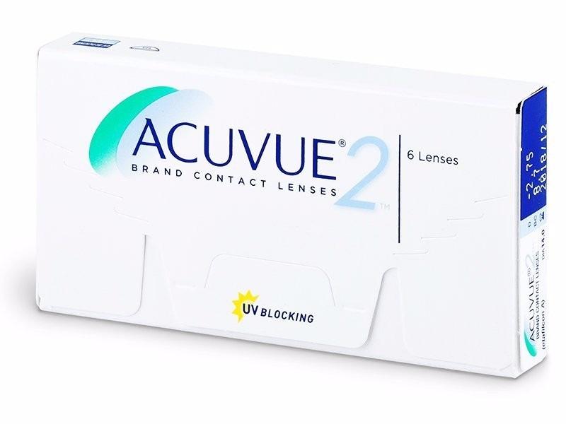 2 caixas lente de contato acuvue 2 incolor com grau johnson. Carregando  zoom. bceedc9f54