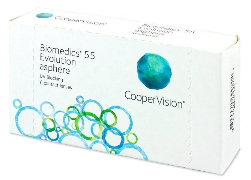 2 caixas   lentes de contato biomedics 55 evolution com grau. Carregando  zoom. 437ccf3aa2