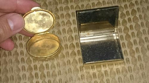 2 caixinhas porta comprimidos francesas pintadas a mão