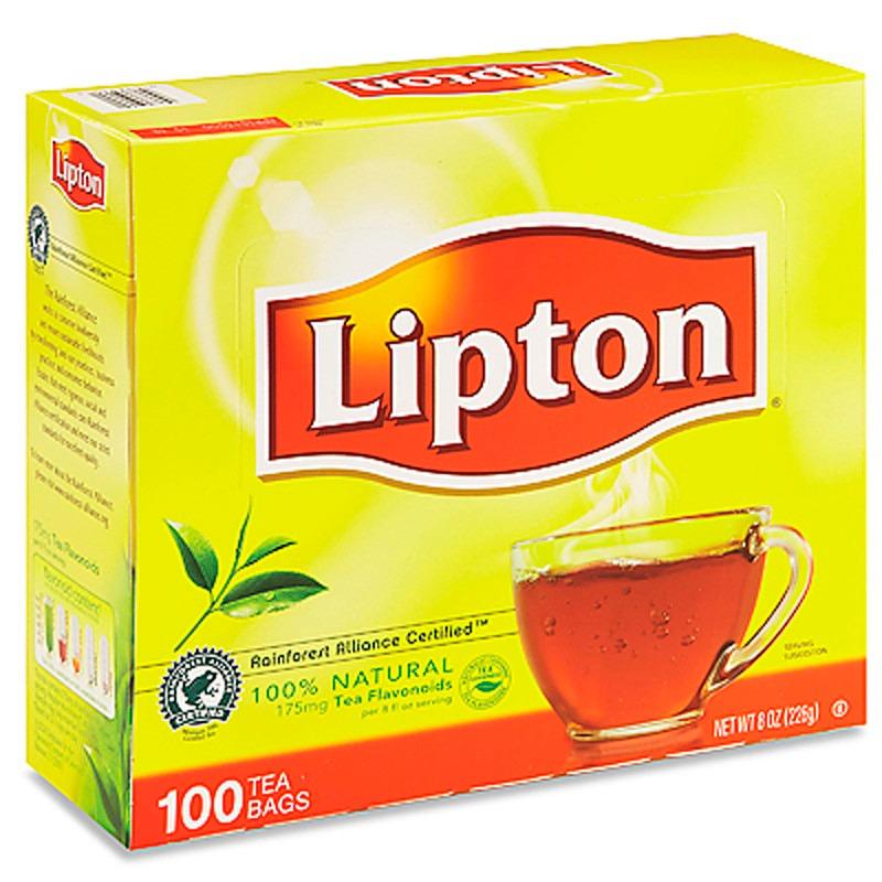 806f88862 ... té lipton 100 % natural con 100 sobres cada una. Cargando zoom.