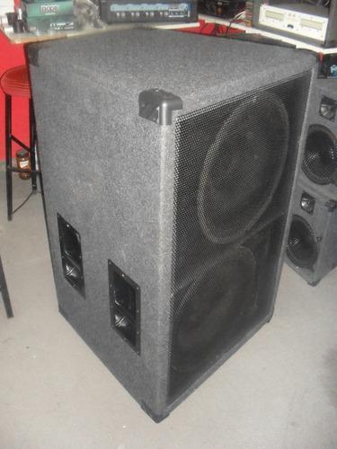 2 cajas graves 15 pulg.900w+potenciaapx600 american pro