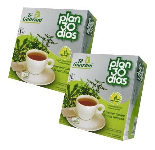 2 cajas té guaraní plan 30 días para adelgazar