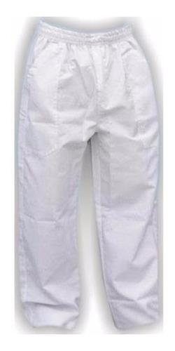 2 calça brim branca frigorifico uniforme profissional