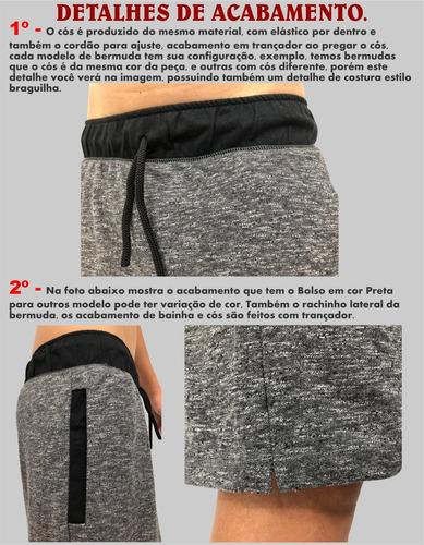 2 calça moletom + 1 bermuda moletom slim abrigo swag shortes