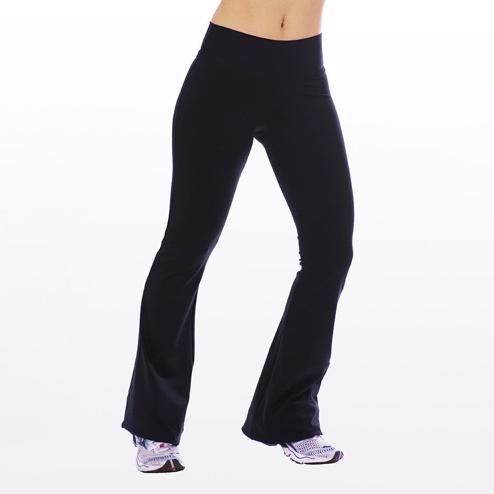 5caf9bd0a 2 calças bailarina flare academia yoga fit cós alto fitness. Carregando  zoom.