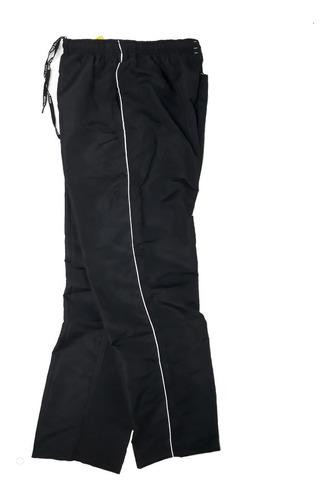 2 calças tactel  adulto com 3 bolsos masculina preta