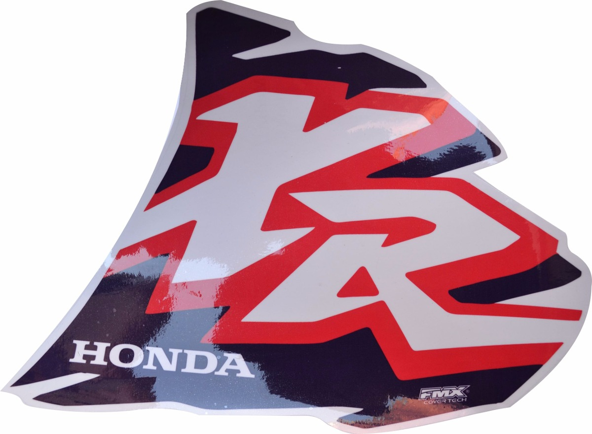 2 calcos sticker tanque honda xr 200 250r 250l 600 ano 1996 399