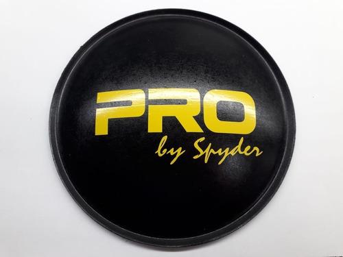 2- calota protetor  falante pro (spyder) 160 mm + cola