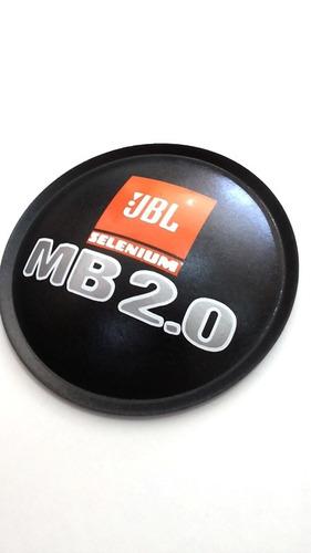 2- calota protetor p/ fal. jbl selenium mb 2.0 135mm + cola