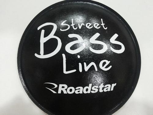 2 - calota protetor p/ fal. street bass line roadstar 160mm