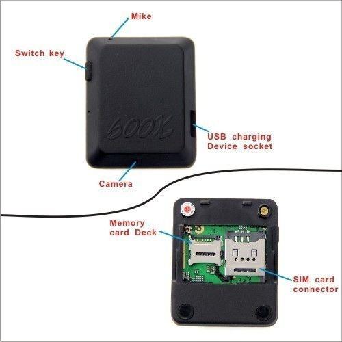 2 cámaras espía con gsm video foto alarma