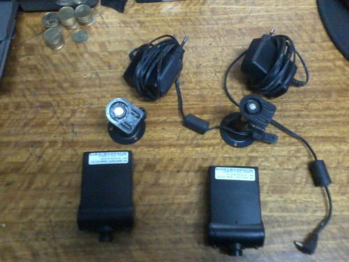 2 camaras ip modelo.: hcv73 con transformador y soporte cada