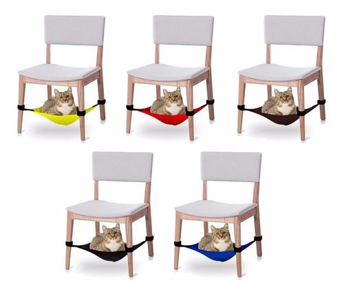 2 caminhas rede p/ gatos p/ fixar em cadeiras - promoção