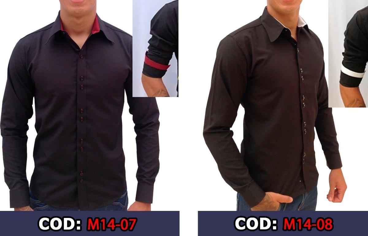 f016fe68a2 2 camisa social slim fit masculina promoção frete grátis. Carregando zoom.