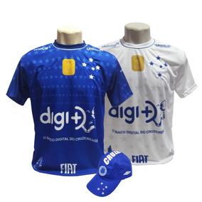 5507c87696 Camisa Cruzeiro Campeao Brasileiro - Masculina Cruzeiro em De Times  Nacionais no Mercado Livre Brasil