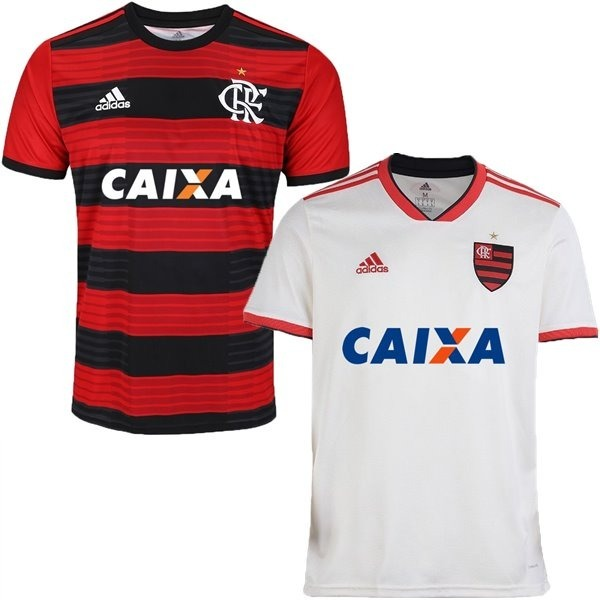8592277f00 2 camisas do flamengo 2018 uniforme 2 e 1 oferta envio 24hs