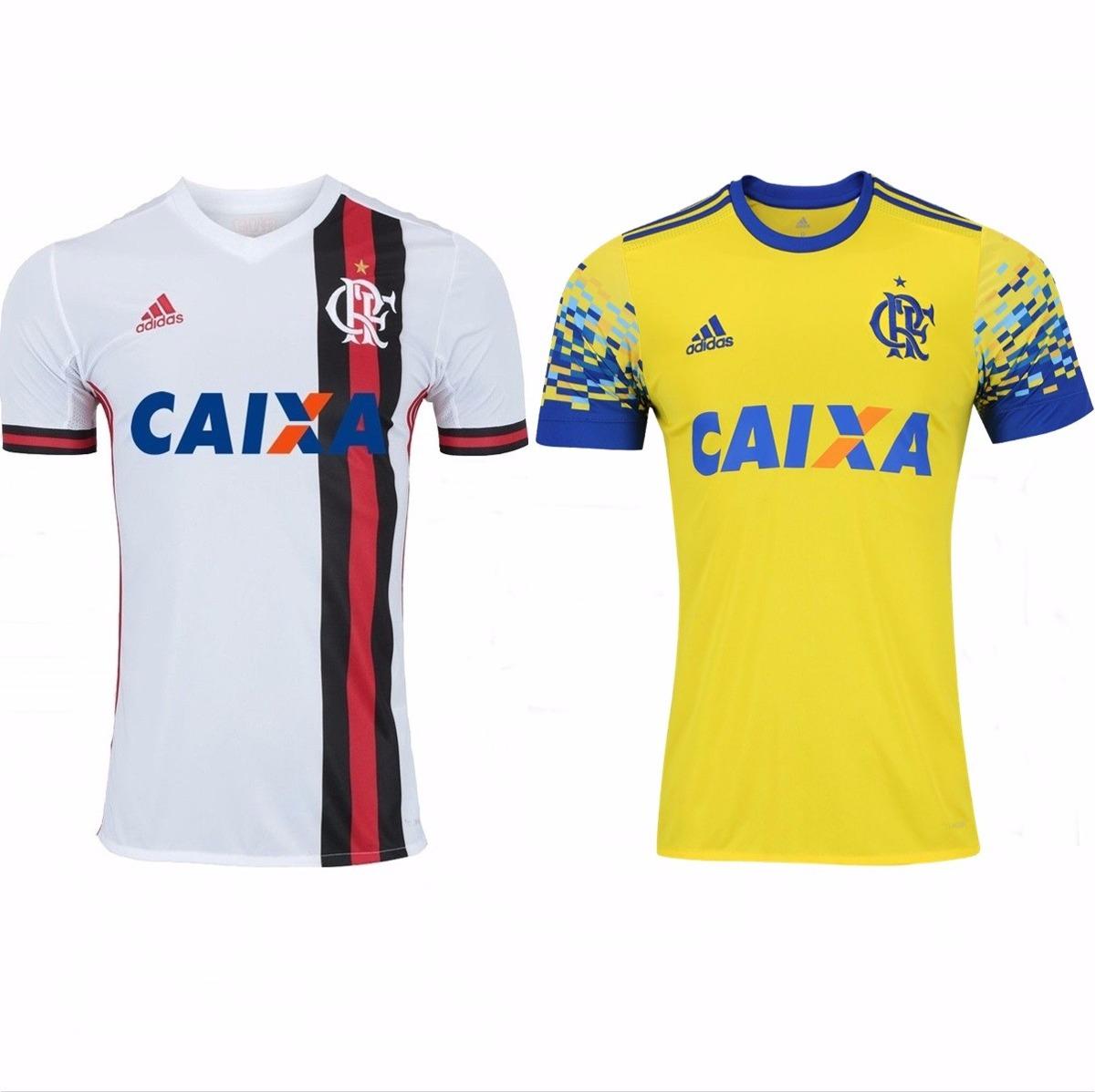 2 camisas do flamengo 2018 uniforme 2 e 1 promoção f grat. Carregando zoom. b5d32fed8c442