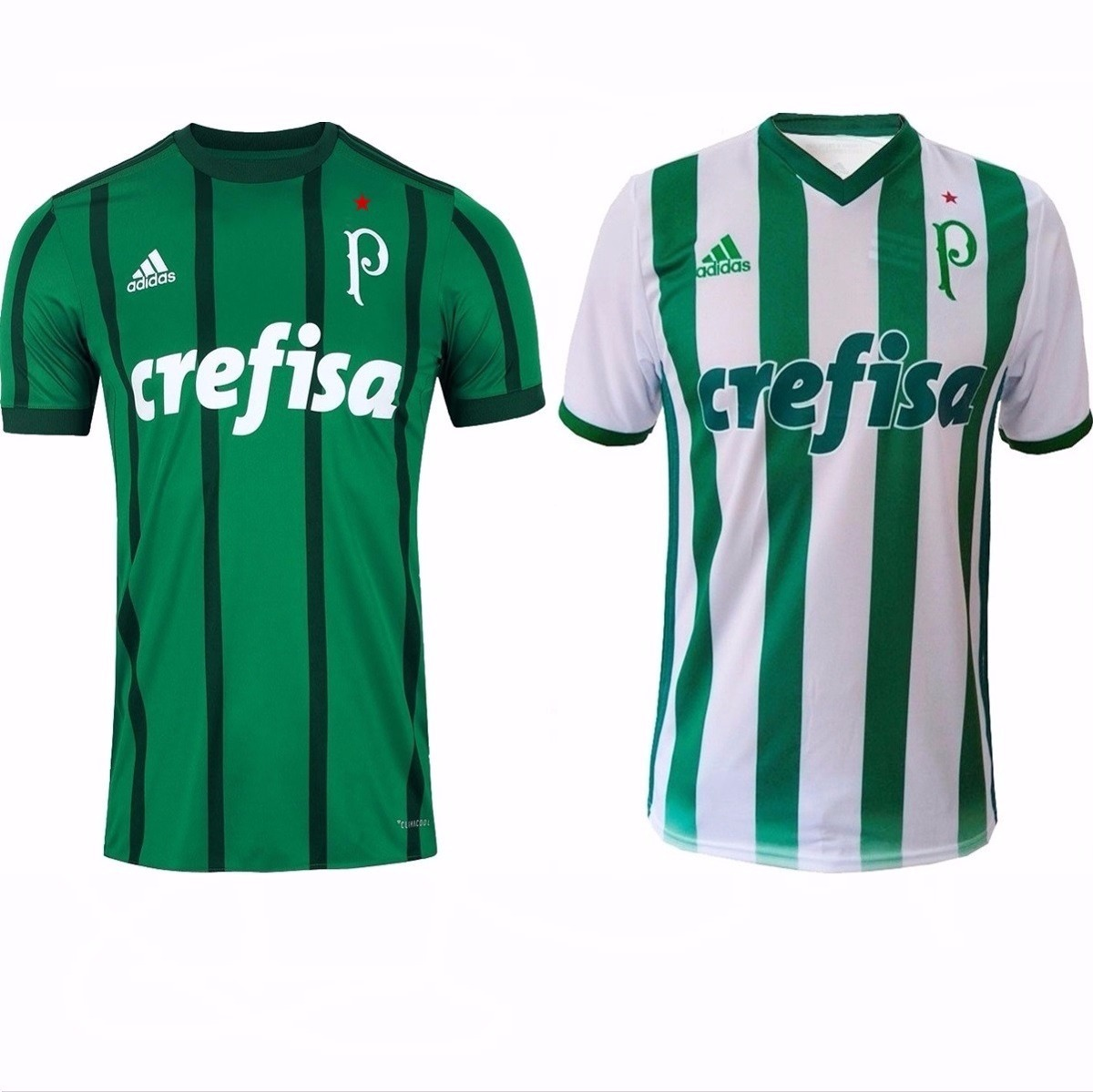 08859cd8a062b 2 Camisas Do Palmeiras 2017 Temporada Nova E Frete Grátis - R  180 ...