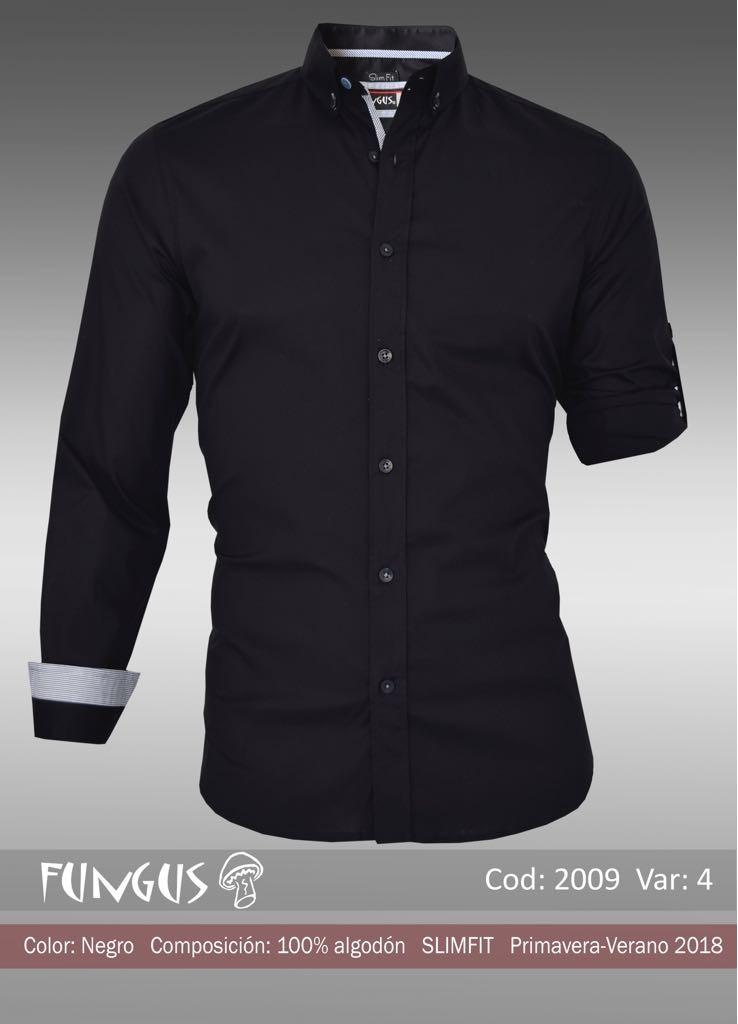 2 Camisas Fungus Para Hombre De Moda Corte Slim Fit -   799.00 en ... ff0536fd133c0