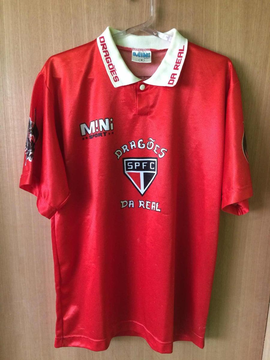2 Camisas Originais Spfc + 1 Antiga Déc 90 Dragões Da Real - R  299 ... 7260a8d8775b0