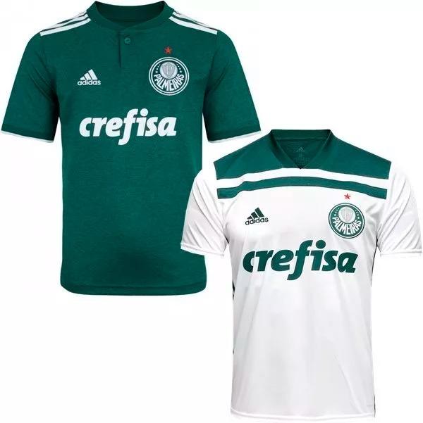 f64d422446 ... d4b4fa2f7a4 2 Camiseta Do Palmeiras Nova Masculina Promoção Envio 24  Hrs - R ..
