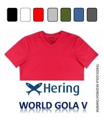 8fb405d549 Camiseta Gola V Masculina Hering - Calçados