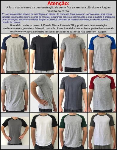 0d949124d6 2 Camiseta Masculina Raglan Rock T-shirt Academia Musculação - R  44 ...
