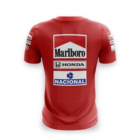 fa8e7e2df6 Camiseta Fórmula Retrô Ayrton Senna Formula 1 - Calçados, Roupas e Bolsas  com o Melhores Preços no Mercado Livre Brasil