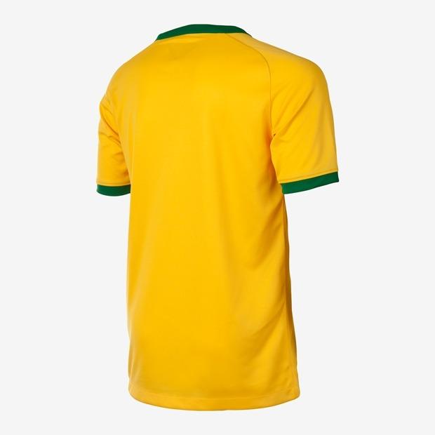 2 Camisetas Infantil Cbf Brasil Torcedor I Oficial Promoção - R  199 ... 9ac693e5145aa
