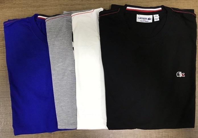 d9f77c78aad13 2 Camisetas Lacoste France Promoção Peruanas ! - R  169,90 em ...