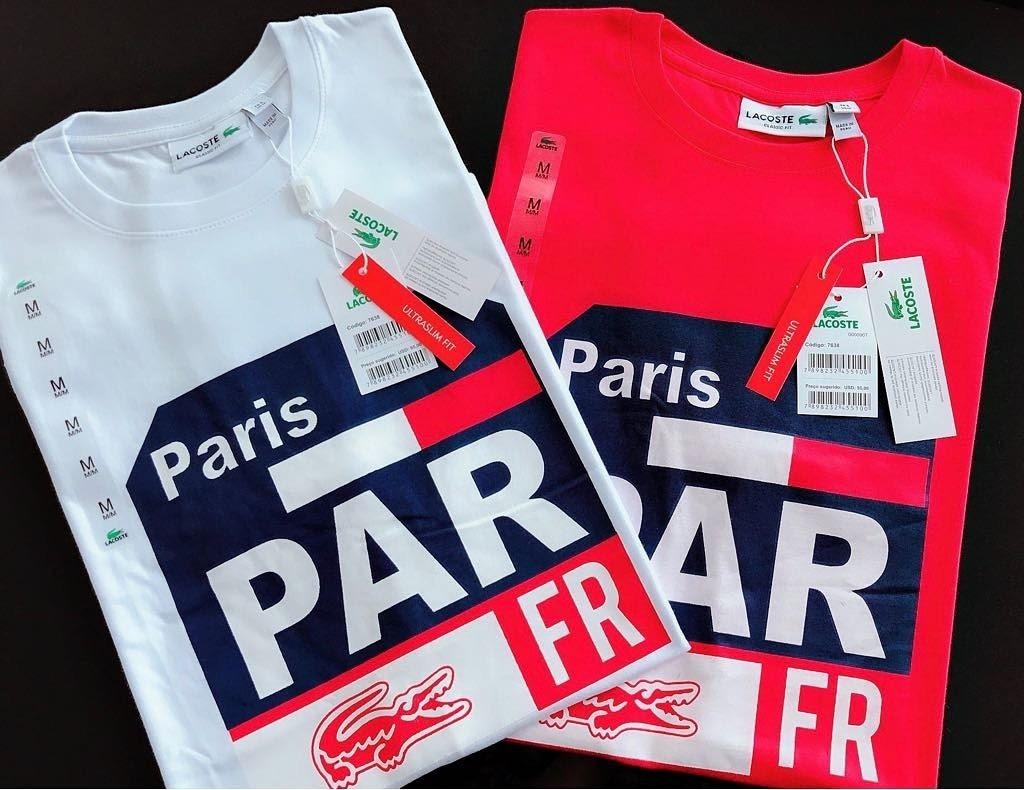 2 Camisetas Lacoste Importada Peruana Promoção - R  140,00 em ... 7718ea902d
