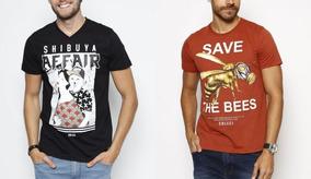 c624b21ab Camiseta Colcci Masculina - Calçados, Roupas e Bolsas no Mercado Livre  Brasil