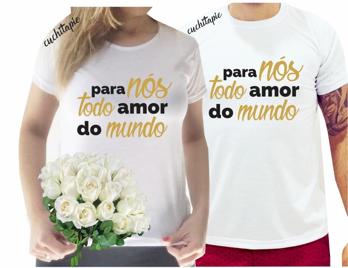 2 camisetas - para nós todo amor do mundo. Carregando zoom. 9b0b536f7ffaf