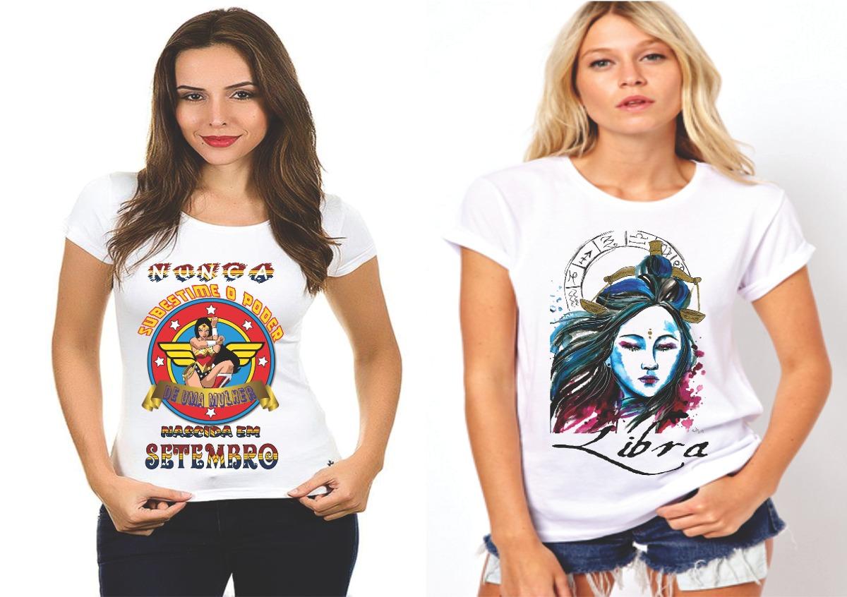 6e0da85a2 2 camisetas personalizadas de aniversario mês setembro f405. Carregando zoom .