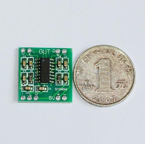 2 canal 3w dc 2.5-5v pam8403 amplificador de audio