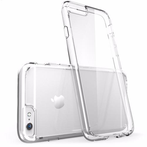 2 capa transparente   iphone 5 5s 6g 4gtpu+pelicula vidro