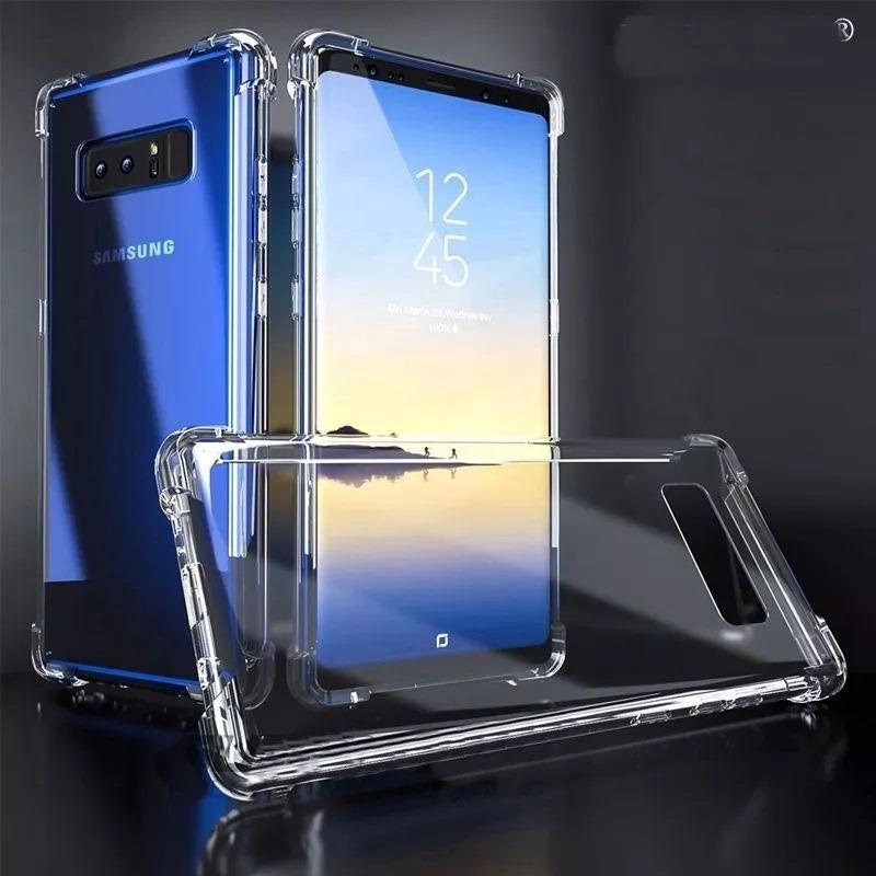 3c5070db5 2 capas anti impacto transparente galaxy note 8 + 2p gel. Carregando zoom.