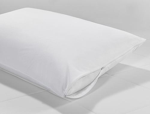 2 capas protetor colchão solt. ziper+ 4 capas de travesseiro