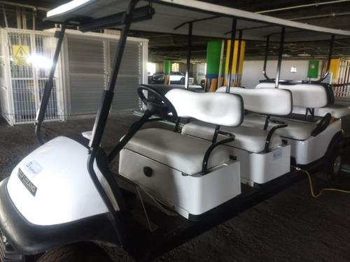 2 carros de golf electricos 8 pax