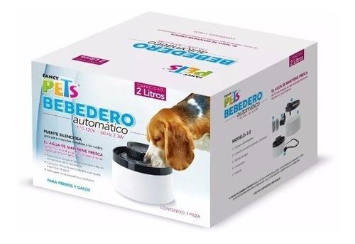 2 cartuchos filtro fuente agua plato perro fancy pets fl8971