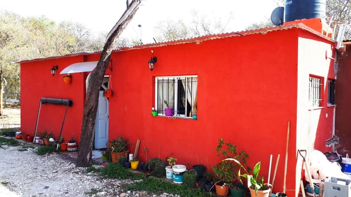 2 casas c/terr 2.500 m2 en las gramillas, san marcos sierras