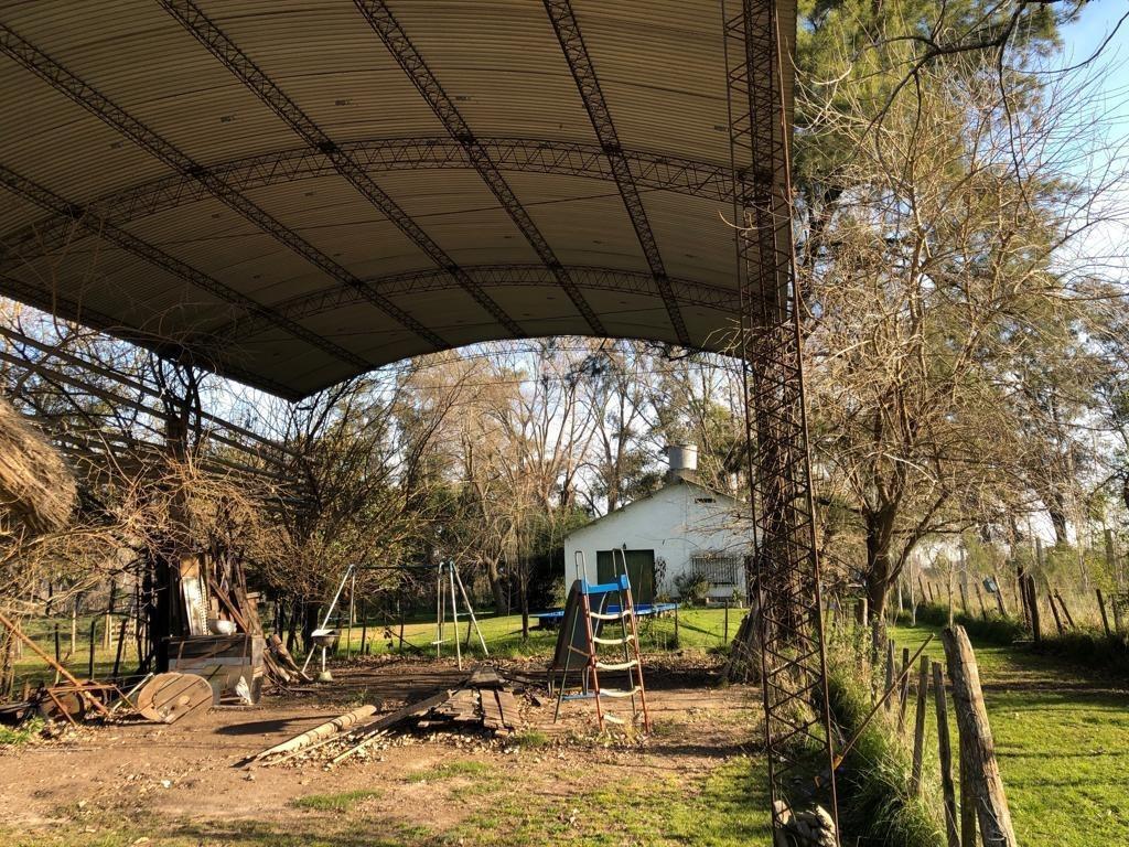 2 casas en venta sobre 2 hectáreas - general rodríguez