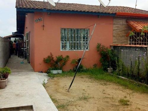 2 casas no mesmo terreno no balneário são jorge em itanhaém