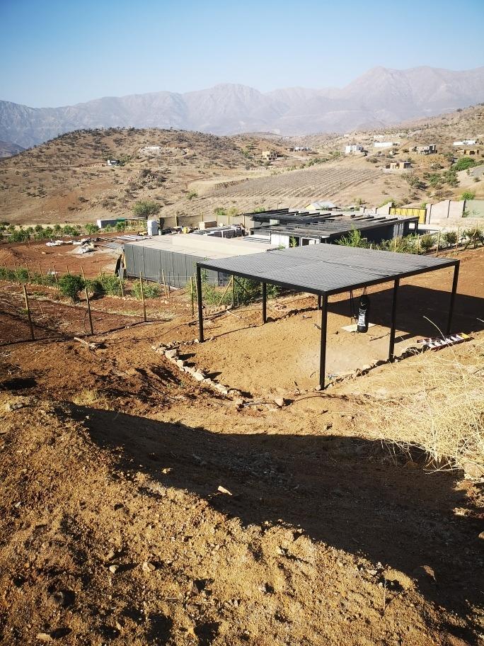 2 casas-parcela de 9500 m2, hacienda chacabuco- conversable