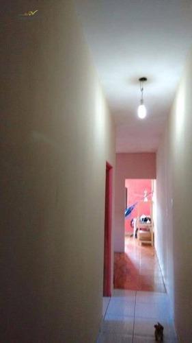 2 casas residencial à venda, jardim santa cruz, mogi guaçu. - ca0223