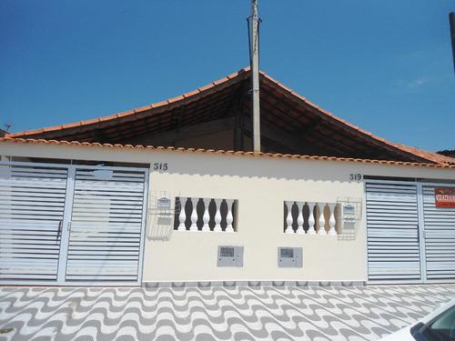 2 casas térreas lado praia ref. 935