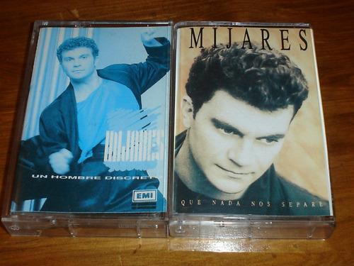 2 cassettes de manuel mijares