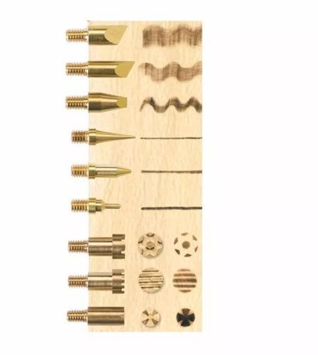 2 cautin pirografo pirograbador weller 15 pieza envio gratis