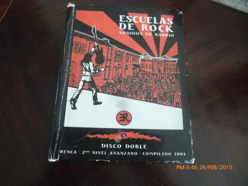 2 cd promociona-les de escuela de rock 2003 (213