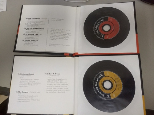 2 cds coleçao folha classicos do jazz nat king cole herbie h
